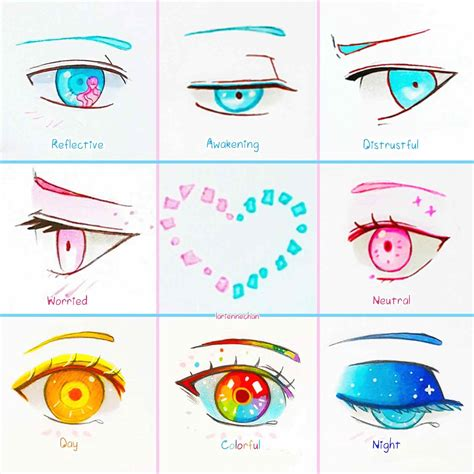cute pretty anime eyes nice lovers pictures of eye