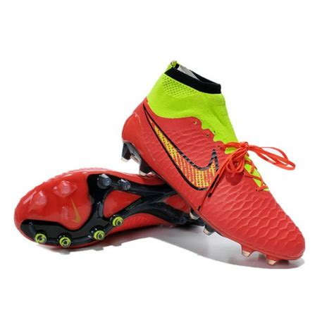 magista football shoes nike new 2014 football boots magista obra fg volt black
