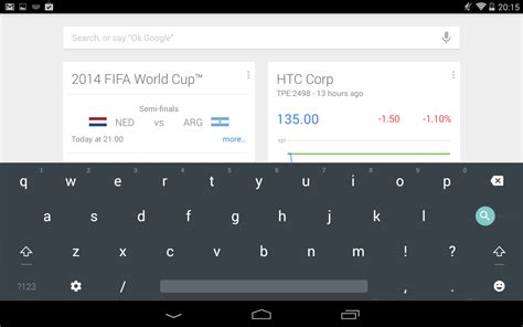 Android Keyboard by Now You Another Way To Get The Android L Keyboard