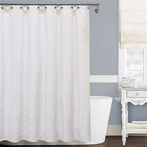 72 x 96 fabric shower curtain buy isabella matelass 233 72 inch x 96 inch shower curtain
