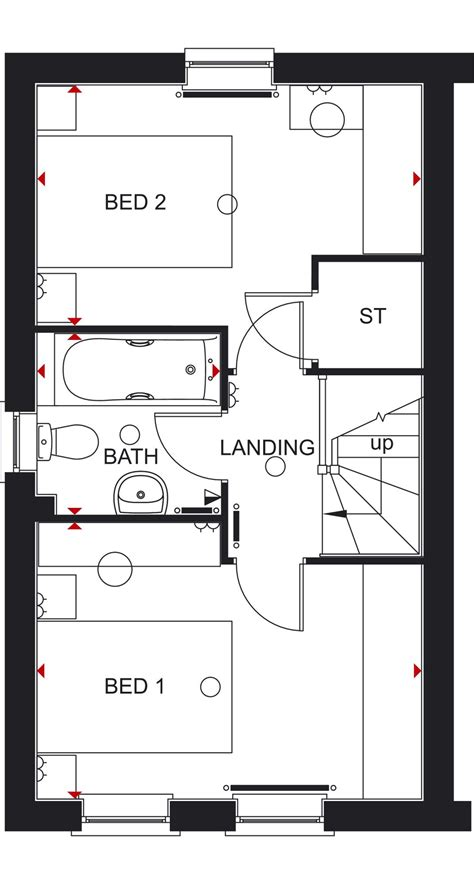 floor plans barratt homes house design plans