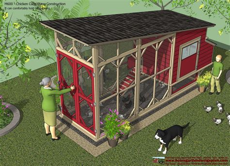 chicken house designs home garden plans m600 chicken coop plans construction chicken coop design how