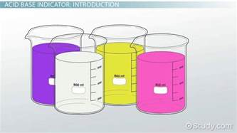 neutral colors definition acid base indicator definition concept lesson