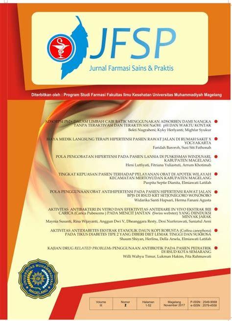 Notebooks Farmasi Pharmacy biaya medik langsung terapi hipertensi pasien rawat jalan di rumah sakit x yogyakarta jurnal