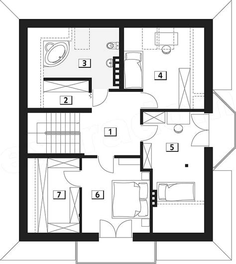 Craftsman Homes Interiors 120 square meters house plan house design plans