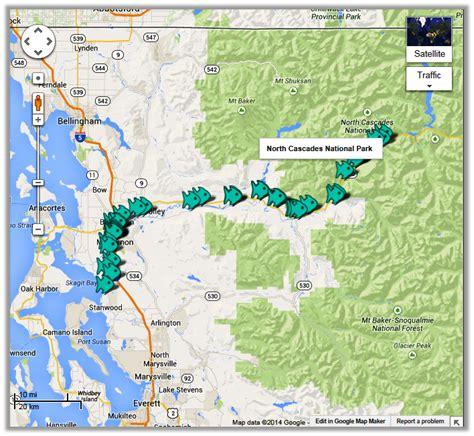 Skagit River Fishing Map | skagit river fishing access reports fishing maps