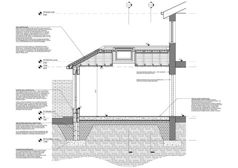 extension section revit detail 09 7 house extension section annotation