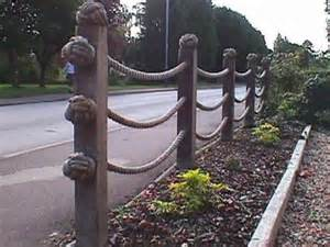 Handrail Netting Fencing Use Between Posts Instead Od Rotted Fence