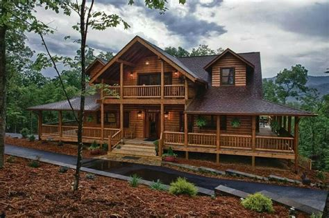 Log Homes With Wrap Around Porches The Wraparound Porch Adds Living Space