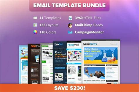 11 Professional Email Templates From Chocotemplates Only 12 Mightydeals Sle Html Email Template