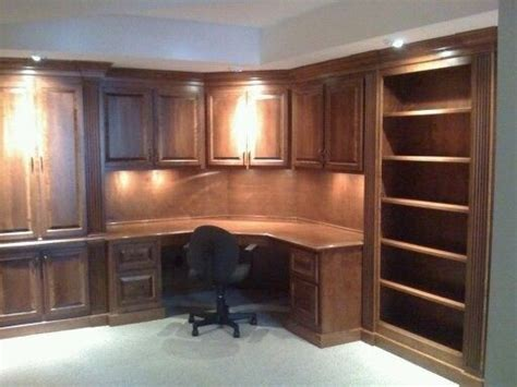 custom built office desk made office desk by monarch cabinetry custommade