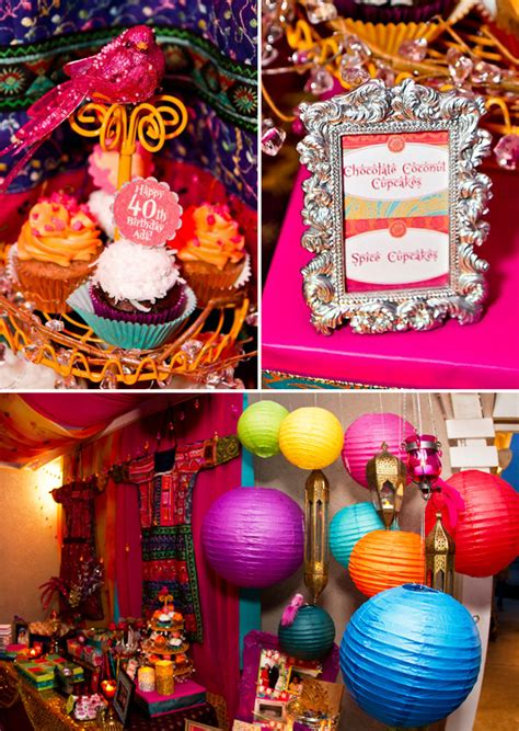 themed birthday party supplies online india vibrant exotic bollywood 40th birthday party hostess