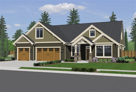 exterior house awesome house exterior design for two bedroom house plans idea with two garages design