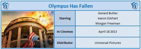 olympus has fallen film rating olympus has fallen 2013 cinema review