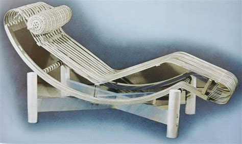 Chaise Longue Perriand by Perriand Et Le Japon
