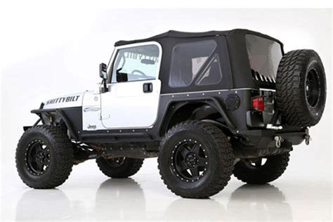 Jeep Kanvas Black smittybilt premium replacement canvas soft tops 10 16 jeep wrangler unlimited jk 2 door