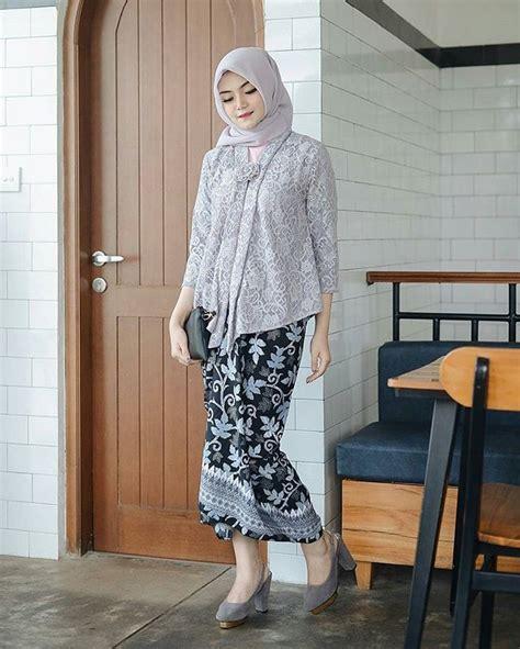 model brokat hijab  hijabers   tren