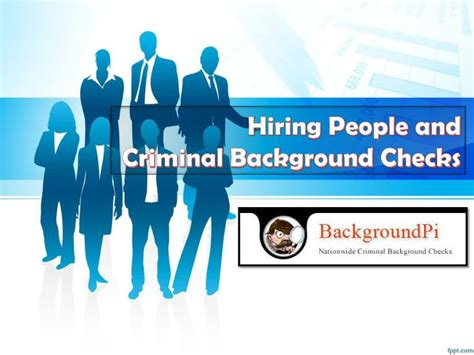 I 485 With Criminal Record Ppt Hiring And Criminal Background Checks Powerpoint Presentation Id 7310235