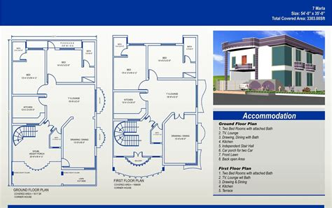 house designs floor plans pakistan 7 marla house plans civil engineers pk