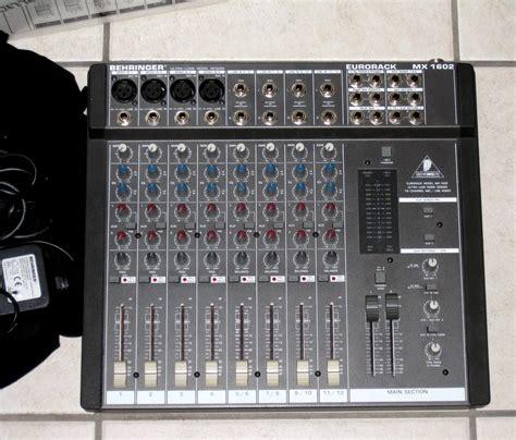 Mixer Behringer Mx behringer eurorack mx1602 image 236576 audiofanzine