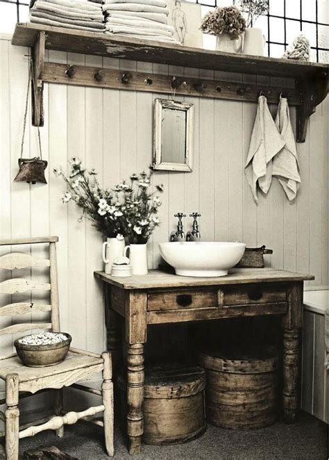 rustic chic bathroom ideas 32 cozy and relaxing farmhouse bathroom designs digsdigs