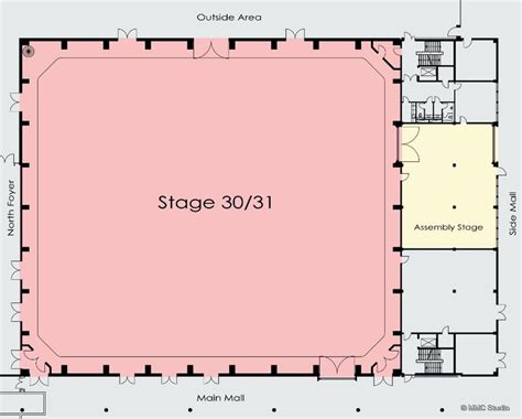 tv studio floor plan production studios mmc studio 30 31 live production tv