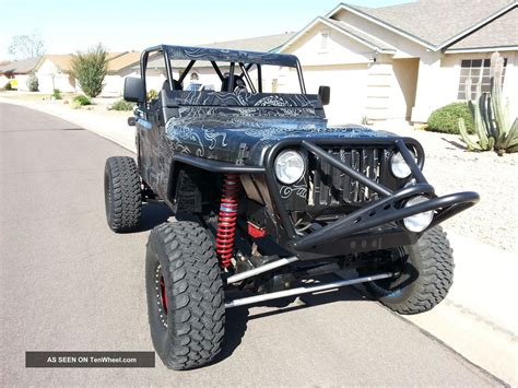 jeep wrangler beach buggy 1998 2012 rock buggy jeep wrangler lj custom sand desert