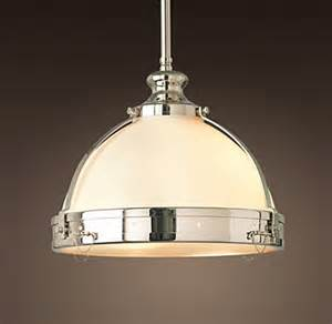Restoration Hardware Island Lighting Clemson Classic Single Pendant