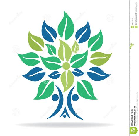 Ecology Family Tree Logo Cartoon Vector Cartoondealer Com 91037689 Ecology Family Tree Logo Stock Vector Illustration Of Biology 91037689