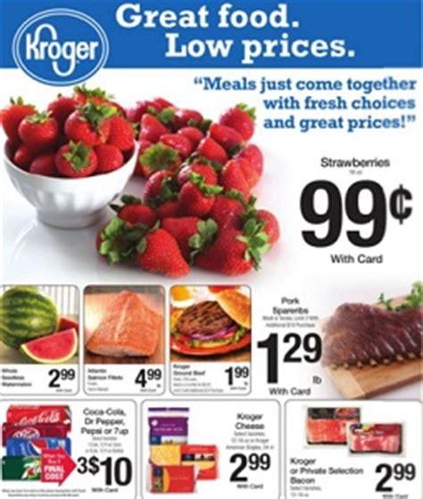 kroger ad coupons week of 8 10 to 8 23 kroger weekly sale ads