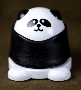 Stepler Panda panda quot staple free quot stapler pandatopia