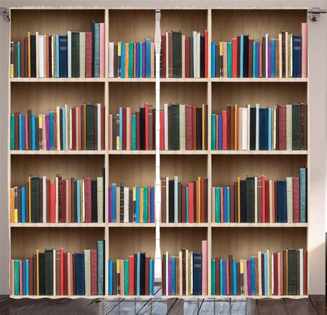 library bookworm decoration decorative bookshelf view
