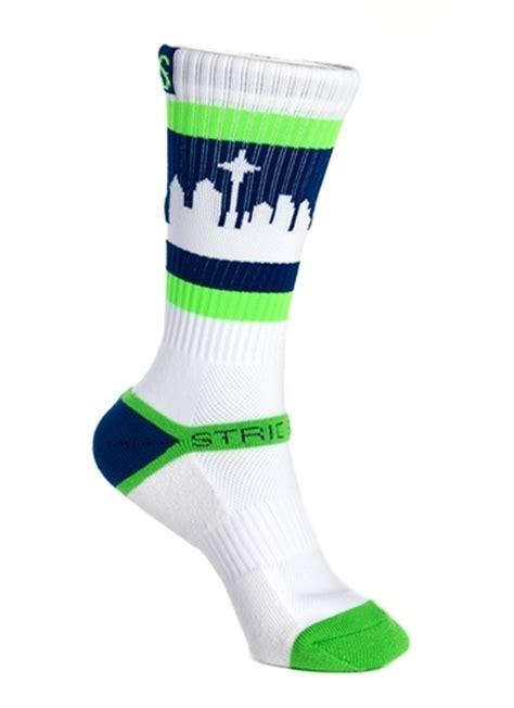 socks seattle strideline socks seattle skyline b a s k e t b a l l