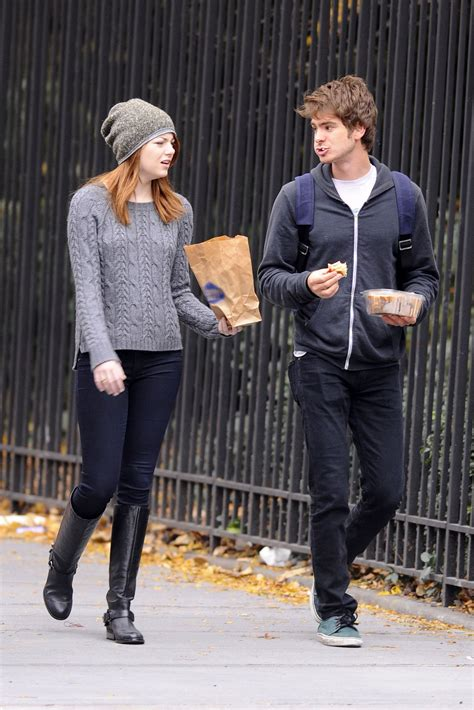 emma stone andrew garfield a e in ny andrew garfield and emma stone photo 28292203