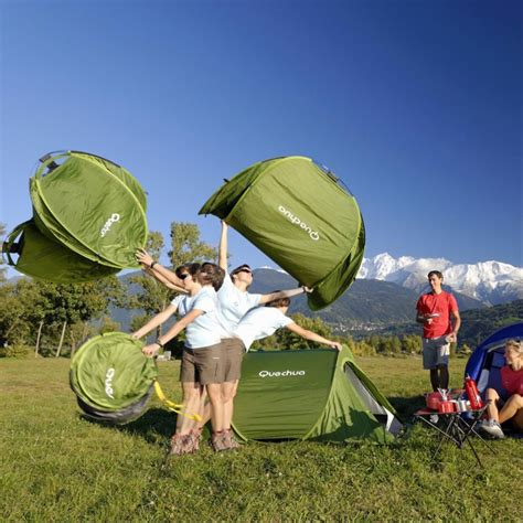 tenda quechua 2 seconds quechua 2 seconds pop up tent the green