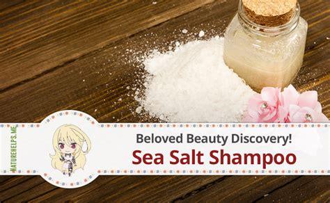 Hair Detox Recipe by Sea Salt Shoo Recipe Diy Hair Detox