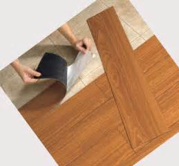 installing faux wood vinyl flooring that looks like wood