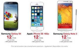 free mobile locations de smartphones haut de gamme 224 12