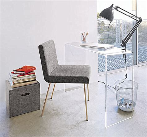 Clear Plastic Desk by Acrylic Home Office Desks For A Clearly Fabulous Work Space