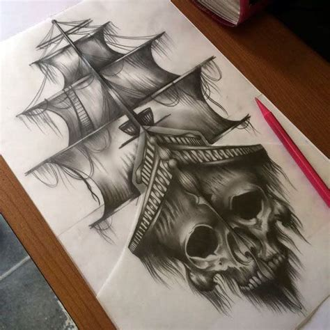 pirate city tattoo de 25 bedste id 233 er til pirate p 229