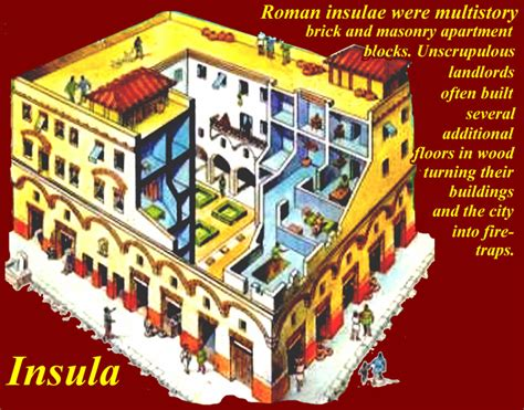 roman insula floor plan first cities to reach 1 million people page 3
