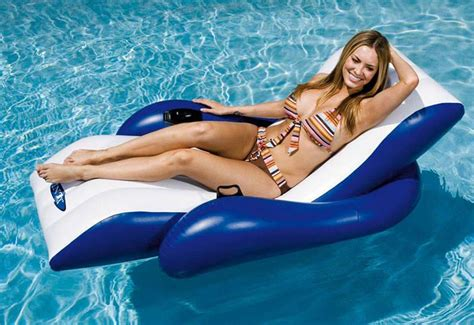 intex pool recliner intex inflatable floating recliner lounger chair air bed