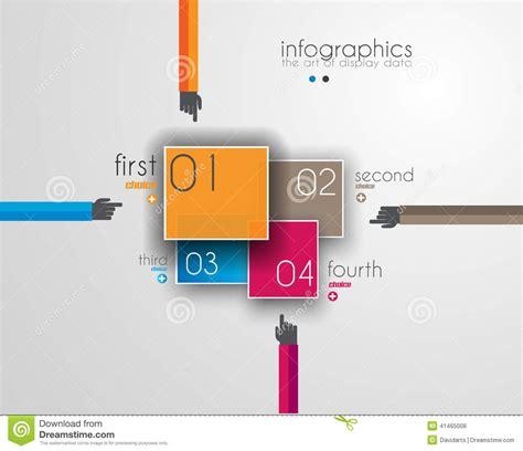 unique templates for website flat ui design concepts for unique infographics stock