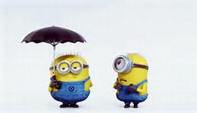 Minion Umbrella