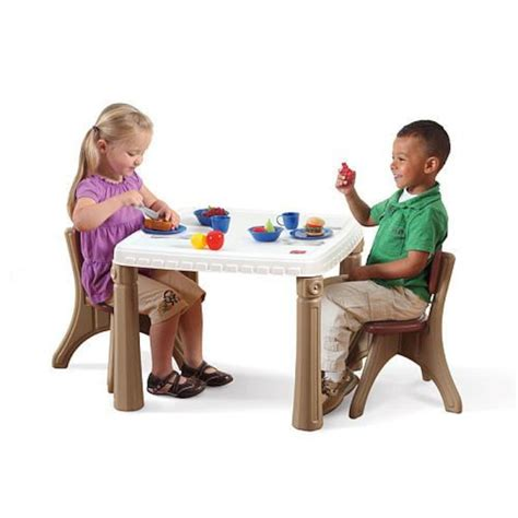 Step 2 Lifestyle Kitchen Table And Chairs Step2 Lifestyle Kitchen Table And Chair Set Toys Quot R Quot Us