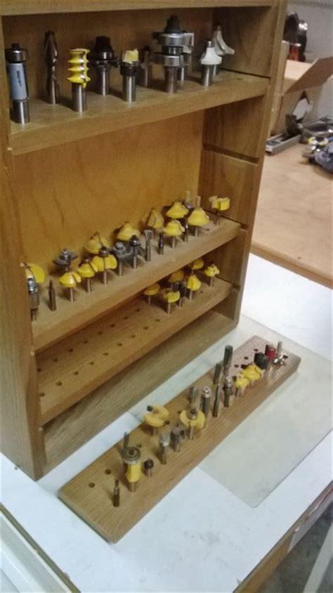 router bit storage  mork  lumberjockscom
