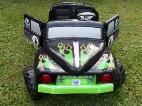 power wheels grave digger monster truck lil freddy s fisher price power wheels grave digger