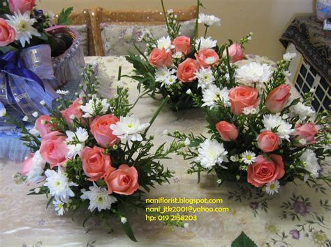 Bunga Meja By Collection bunga segar sebagai hiasan hantaran jambangan bunga tangan