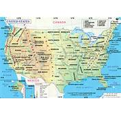 Map Of USA  Click On Any US State For Its &amp Information