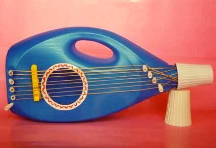imagenes de instrumentos musicales hechos con material reciclado pequemanualidades instrumentos de materiales reciclados